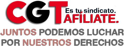 Afíliate a CGT